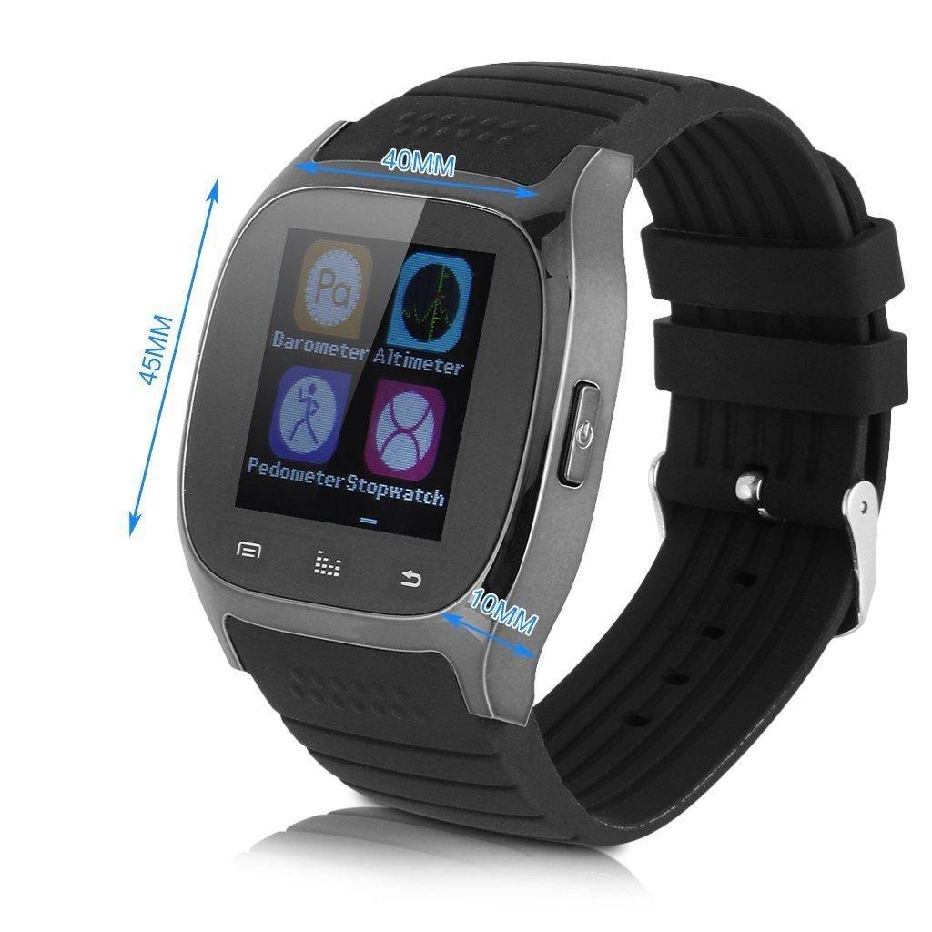 Amazon.com: M26 Bluetooth Smart Wrist Watch Phone Mate For ...
