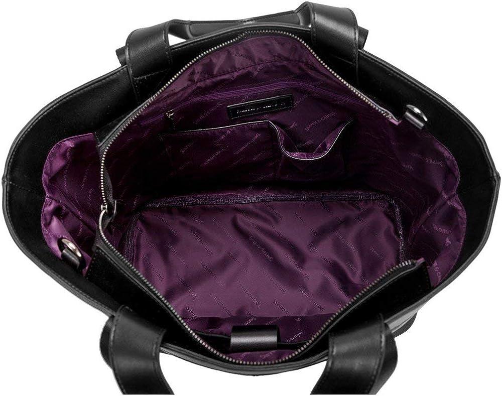 Smith & Canova Twin Strap Femme Shopper Noir Noir