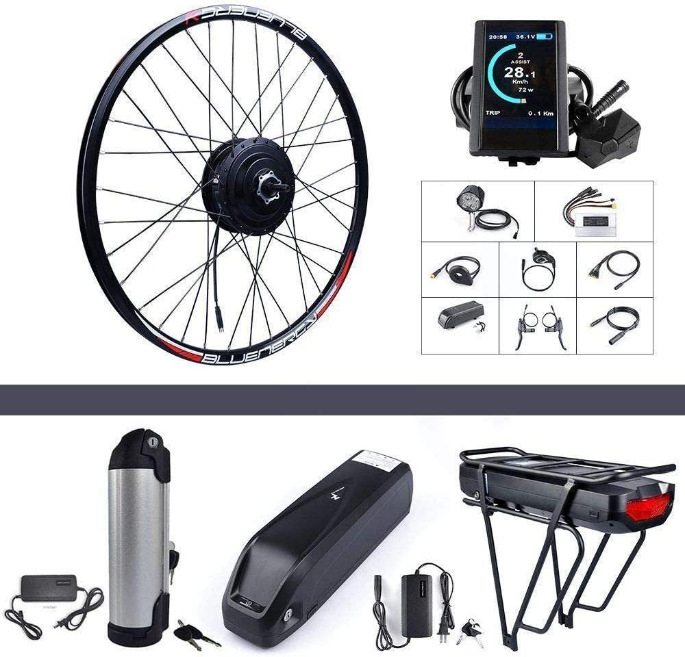 Bafang 500 W 48 V Hub Motor Bicicleta eléctrica Kit de conversión ...