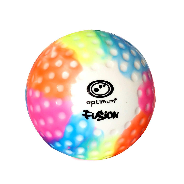 OPTIMUM Optimal Unisexe Fusion Dimple Ballon, Multicolore, Taille Unique