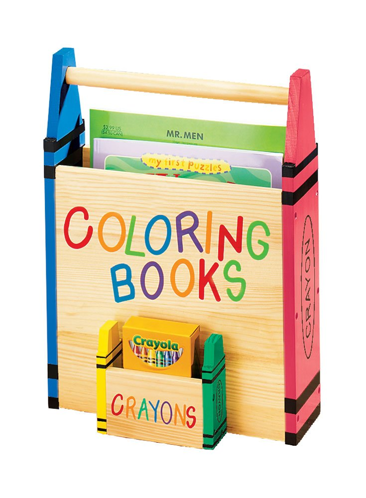 Amazon.com: Miles Kimball Coloring Book Holder: Toys & Games