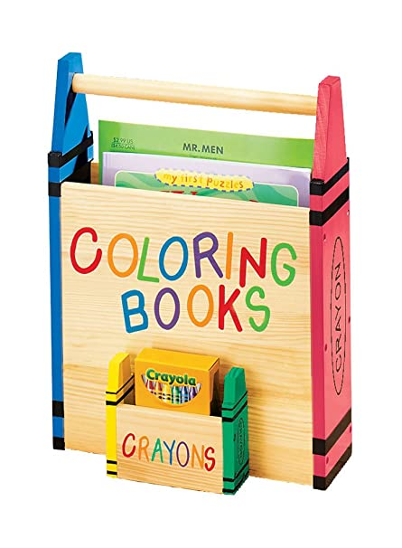 Amazon.com: Fox Valley Traders Miles Kimball Coloring Book Holder ...