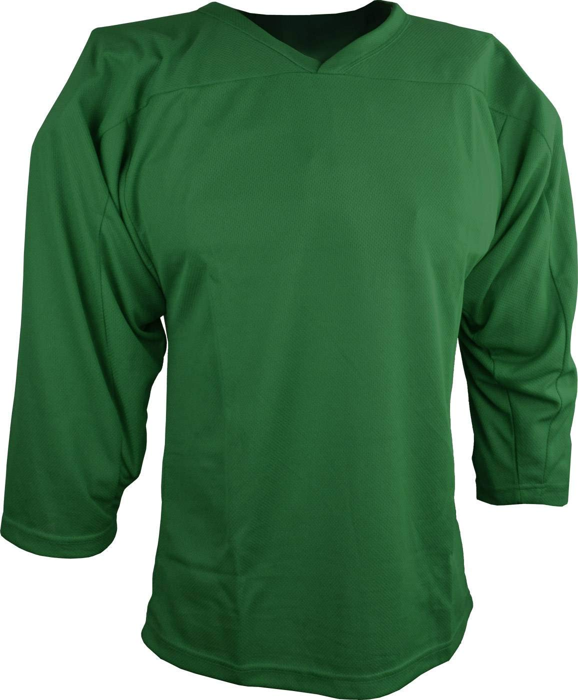 Sports Unlimited Adult Hockey Practice Jersey, Dark Green, Small