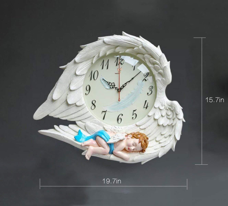 Mings Hermosa y Practica Reloj de Pared Creative Living Room Reloj de Pared Reloj de Moda HD Reloj de Cuarzo