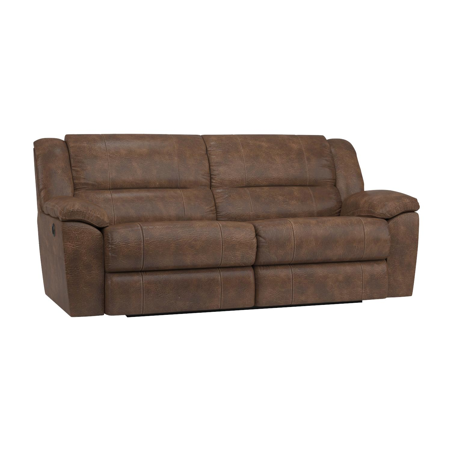 Amazon Simmons Upholstery Phoenix Mocha Double Motion Sofa