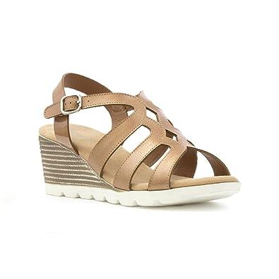 Heavenly Feet Heavenly Feet Sage Black Sandals, Sandales pour femme - noir - noir,