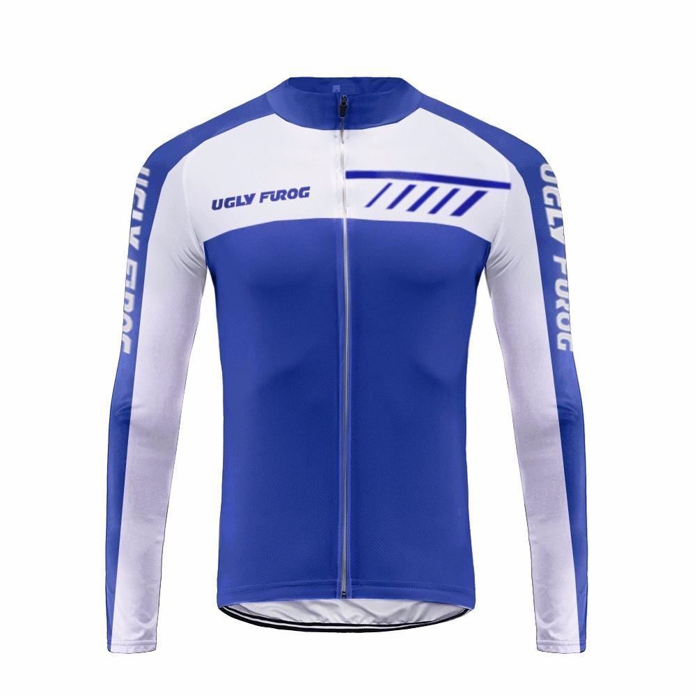 Uglyfrog 2018 M47 Männer Radfahren Langarm Radfahren Jersey eine Menge Farben Antislip Ärmel Cuff Road Bike MTB Top Riding Shirt