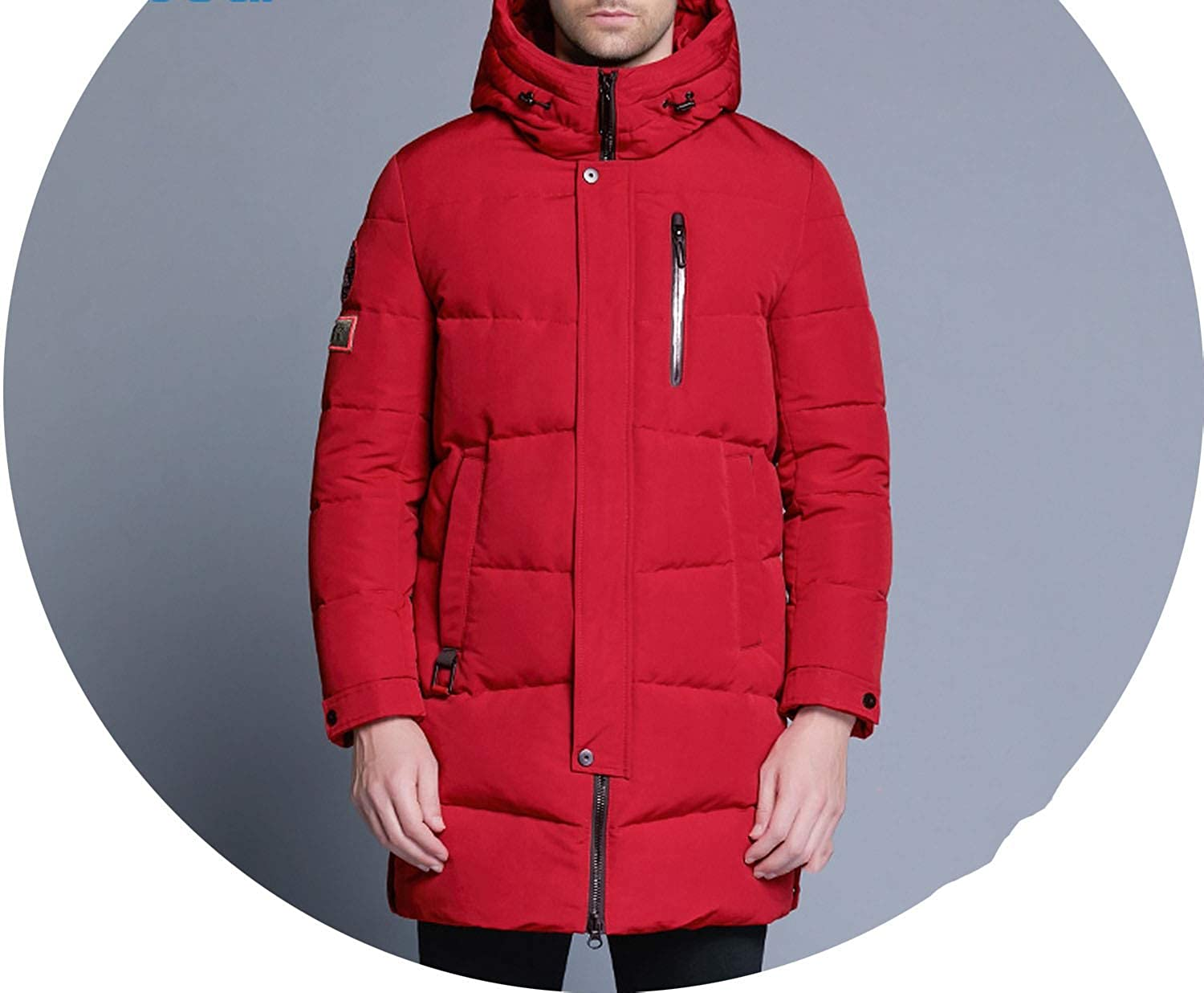 Amazon.com: Winter Jacket Men Coat Slim Sportswear Outwear ...