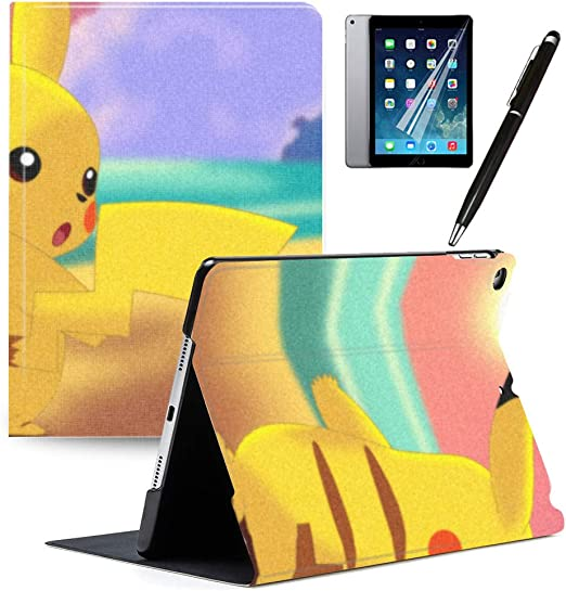 Leather Pattern Smart Stand Cover Case for Apple iPad 10.2 inch 7th Generation