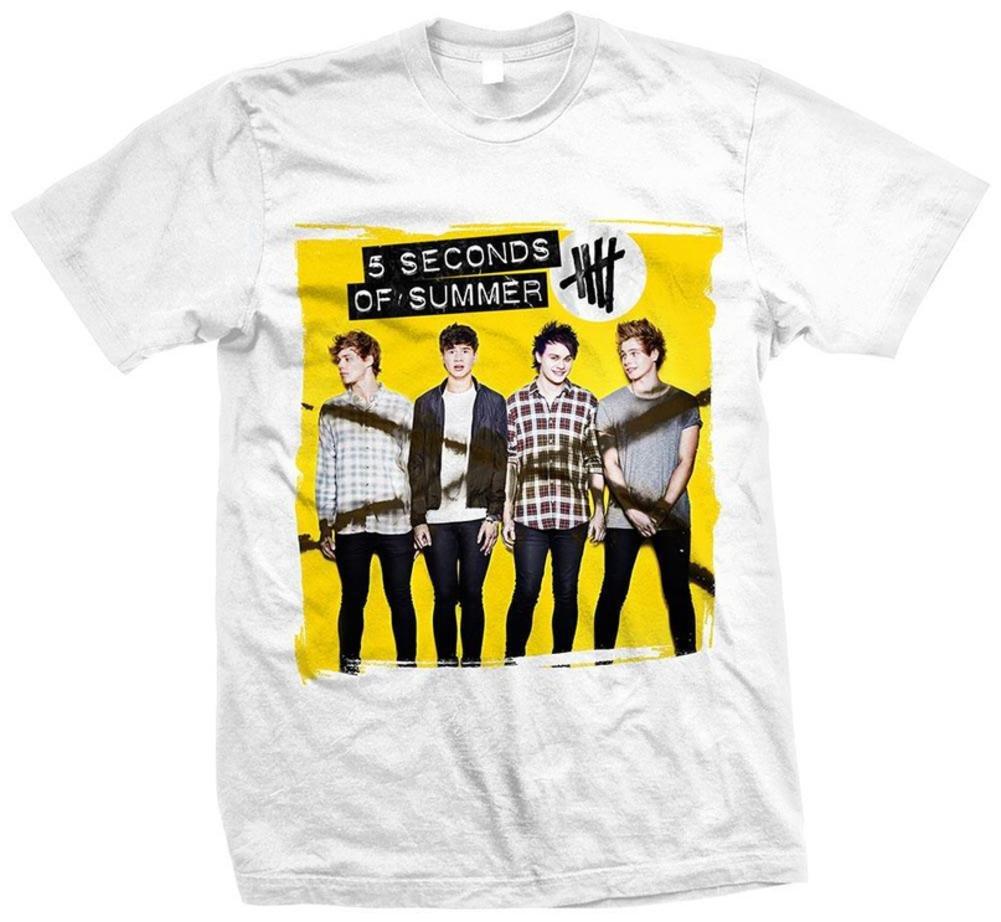 5 Seconds of Summer - Album Shirt T-Shirt Size L