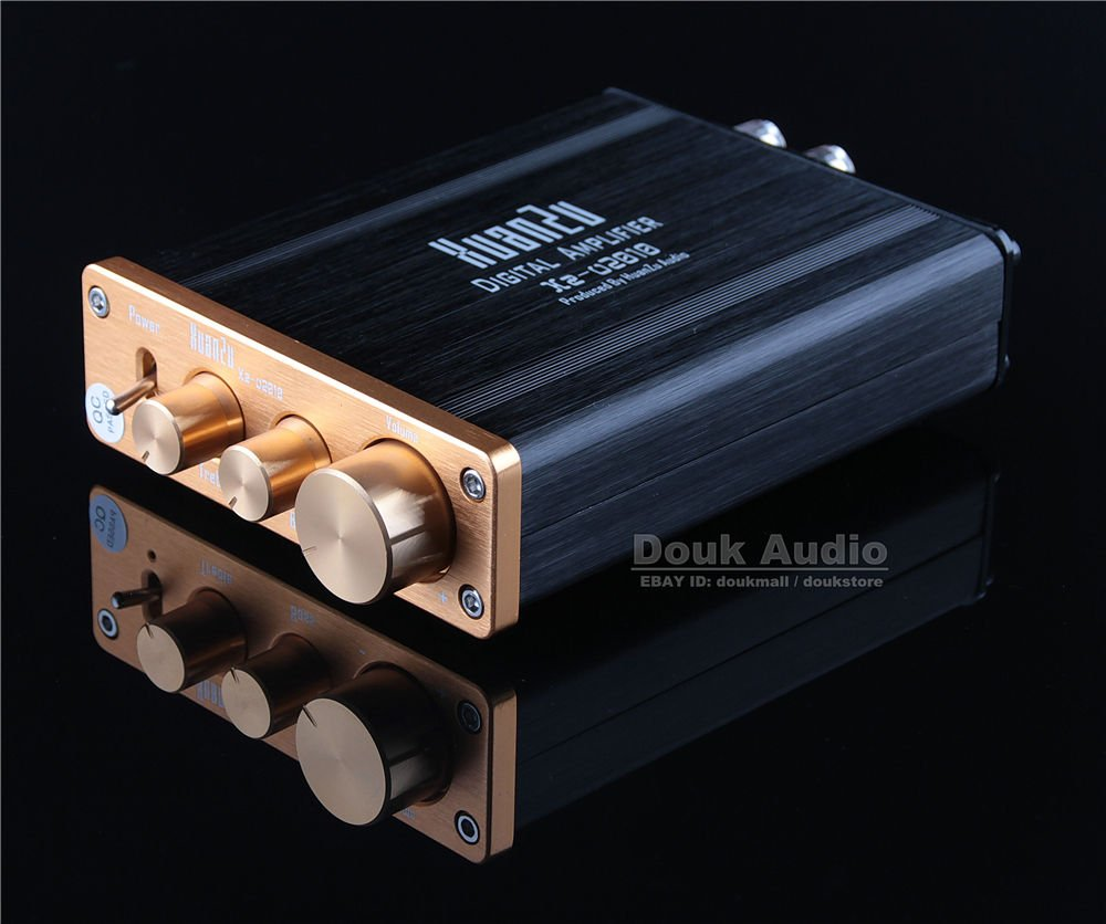 nobsound HiFi tda7498 Class D Amplificador Digital Estéreo Bass integrada Power Amp 80 Wx2: Amazon.es: Electrónica