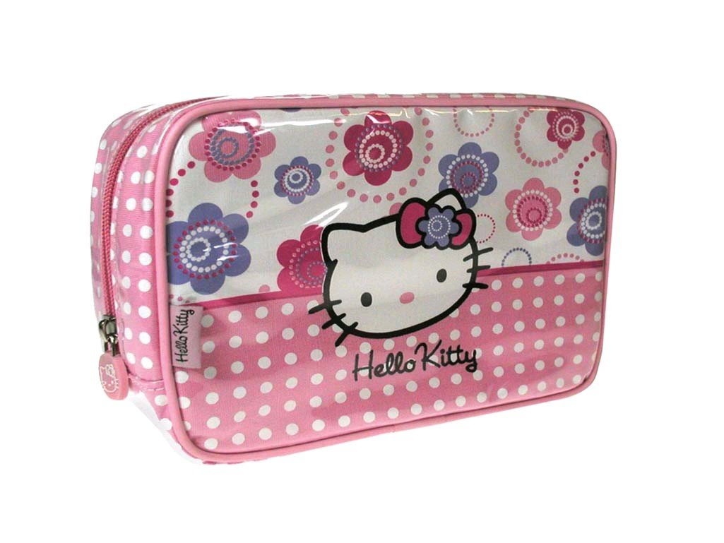 "Hello Kitty - Waschtasche ""Hello Kitty Flowers"""