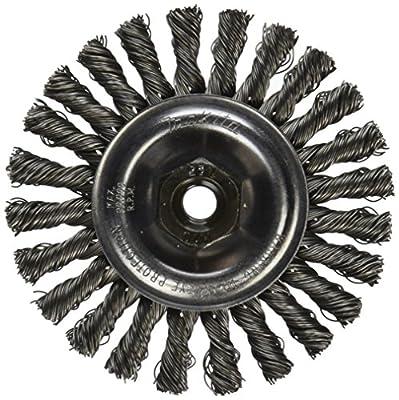 Makita 743203-4B Threaded Wire Brush Wheel