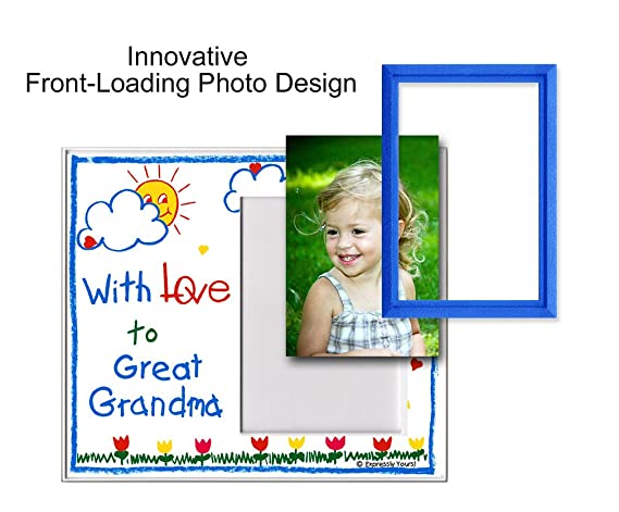 With Love to Great Grandma & Great Grandpa Picture Frame Gift ...