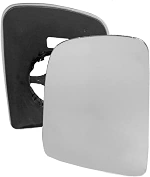 Right Side Covex Wing Mirror Glass For Nissan NV200 M20 ME0 Clip On Heated Fits