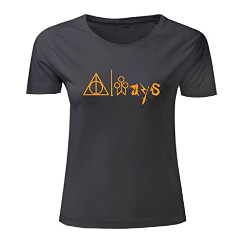 Art T-shirt, Maglietta Always Harry Potter, Donna