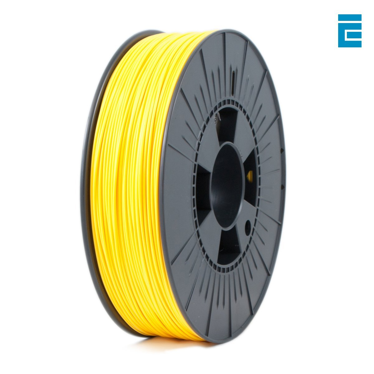 Ice Filaments ICEFIL1PLA013 Filamento PLA 1.75mm, 0.75kg, Giallo Dutch Filaments