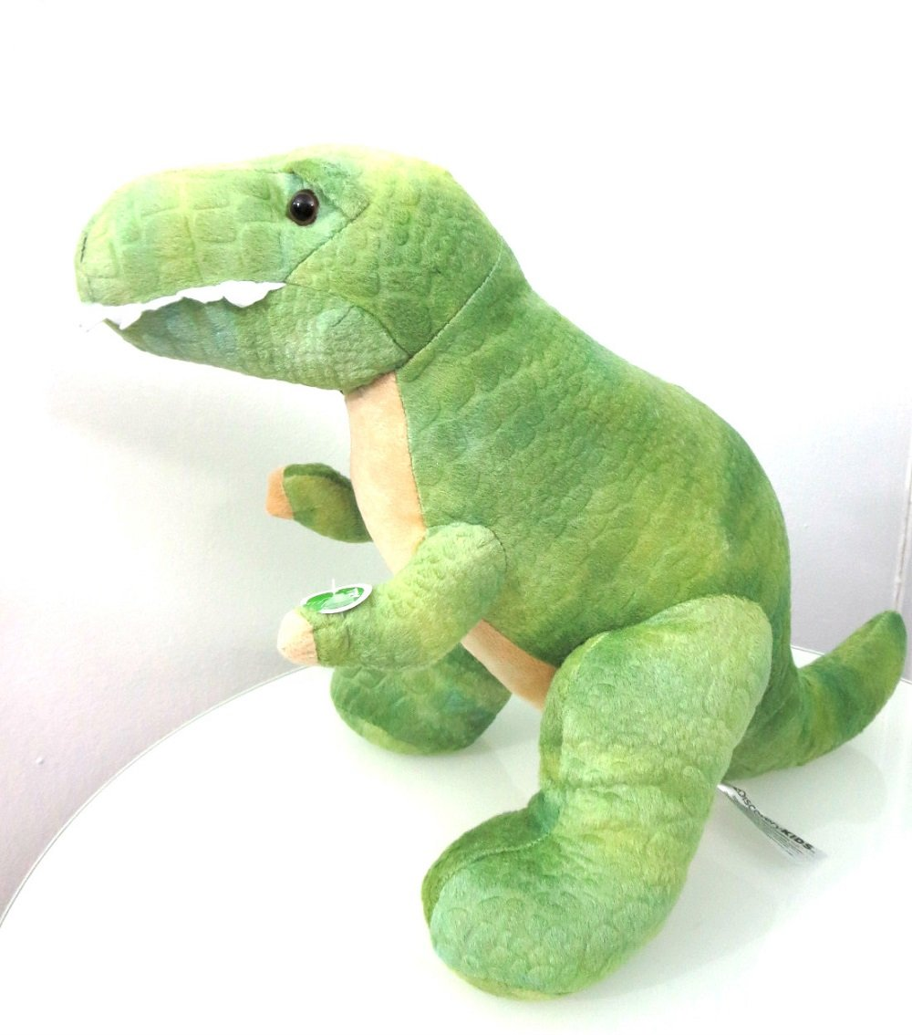 Amazon.com: DISCOVERY KIDS Plush Toy T-Rex Dinosaur with roaring ...