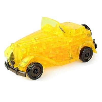3D Puzzle Crystal 54 pièces 3D Puzzle jouets éducatifs, jouets d'enfants - voiture