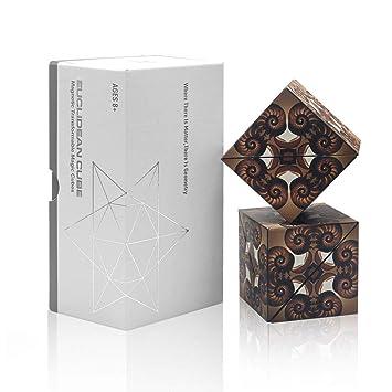 Amazon.com: Cubo magnético Euclidean con 36 imanes ...