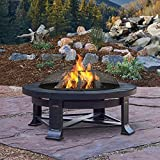 Cheap Real Flame 938-GRY Edwards Wood Burning Fire Pit, Gray