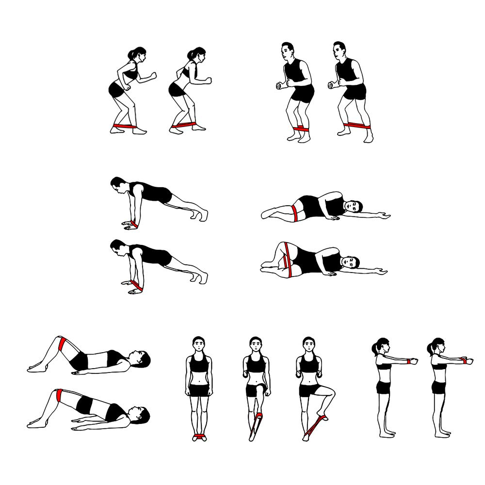 Ogquaton Fitness Stretch Band Tensi/ón Banda Asistida Pull Up Band para Entrenamiento con Pesas de Fuerza Yoga Estiramiento Ejercicio de Movilidad para Hombres y Mujeres 1 Pieza Naranja