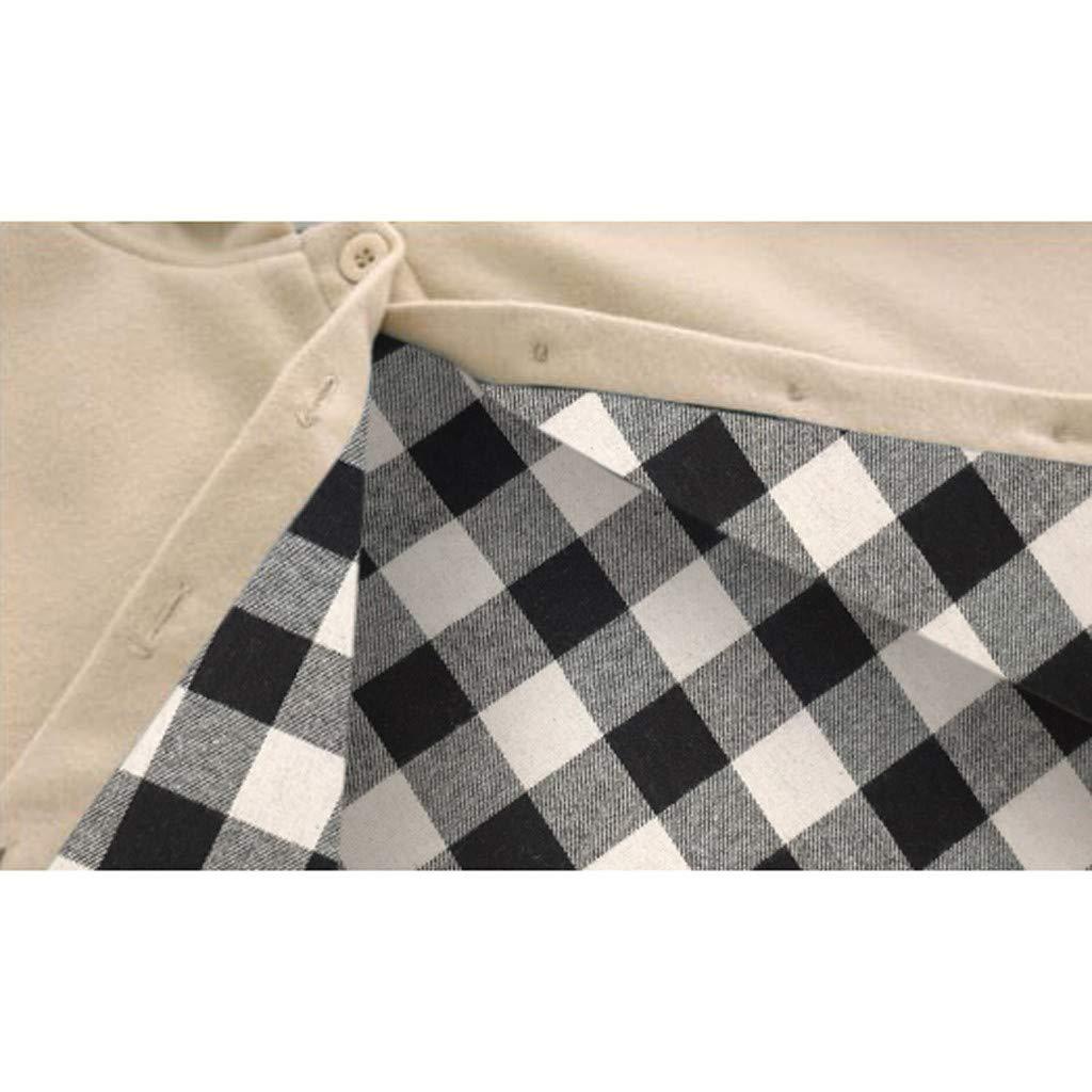 Gallity Baby Boys Girl Hoodie Cape 0-3T Unisex Toddler Kids Long Sleeve Wool Blend Hooded Cloak Carseat Winter Warm Poncho Snowsuit Outwear 12-18 Months, Khaki