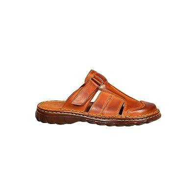 6cae843a6b2 Cómodo Sandalias Real Cuero Búfalo Hombre Zapatos ...