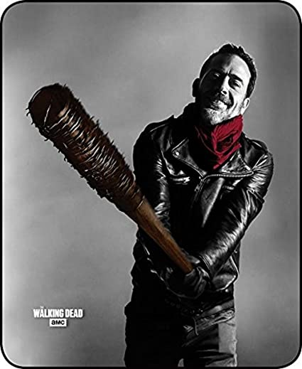 Walking Dead Throw Blankets Delectable Amazon The Walking Dead Plush Fleece Negan And Lucille 60 X 60