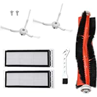 MTKD® Tillbehör och ersättning för Roborock S50 S51 S55 S5 S6 - tillbehör för Xiaomi MI Mijia Robot Vacuum - huvudborste…