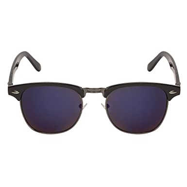 cd383f727d Arzonai Ultimate Clubmaster Shape Black-Purple Mirrored UV Protection  Sunglasses For Men   Women  MA-094-S14    Amazon.in  Clothing   Accessories
