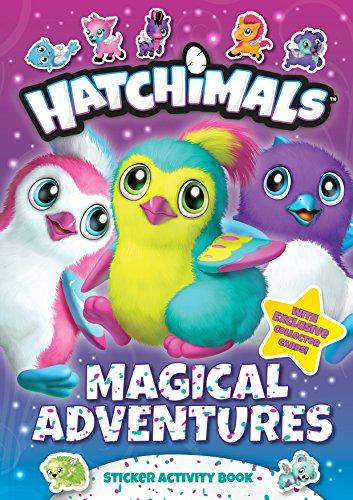 Magical Adventures: Sticker Activity Book (Hatchimals)