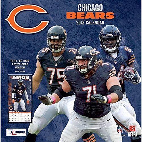 2018 Chicago Bears Mini Wall Calendar