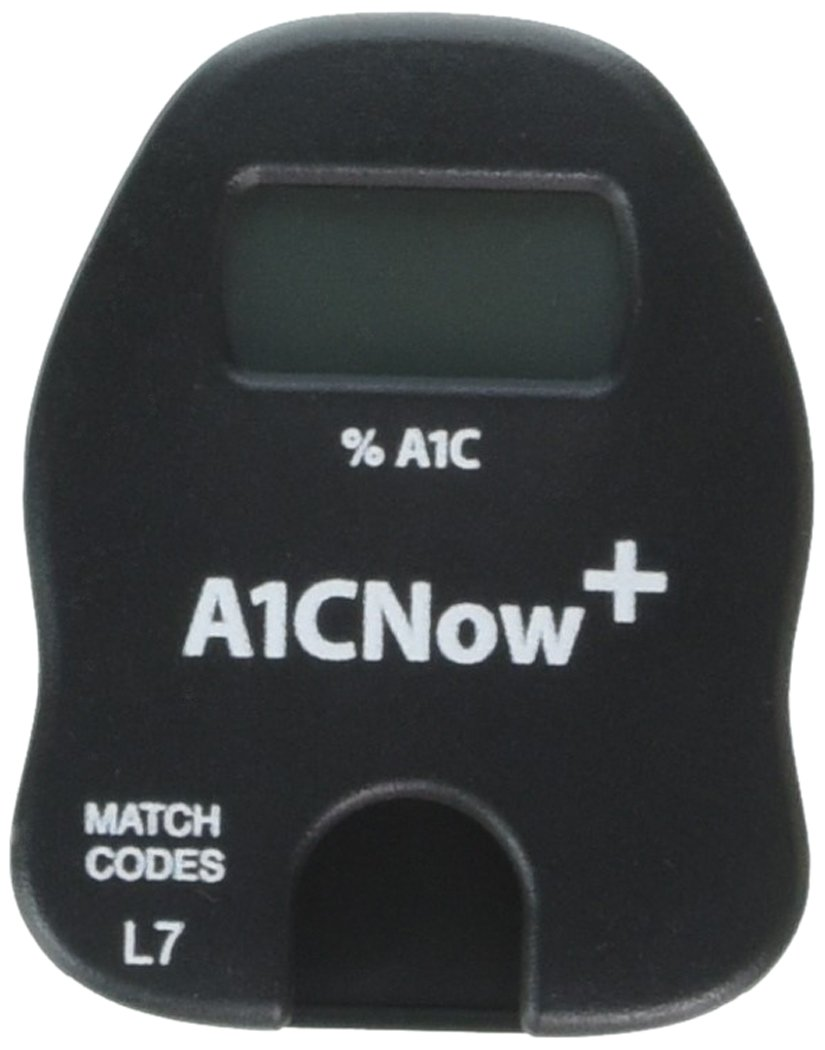 PTS Diagnostics A1C Now+ Multi-Test Blood Glucose Monitor (Plus 10) by A1CNow+