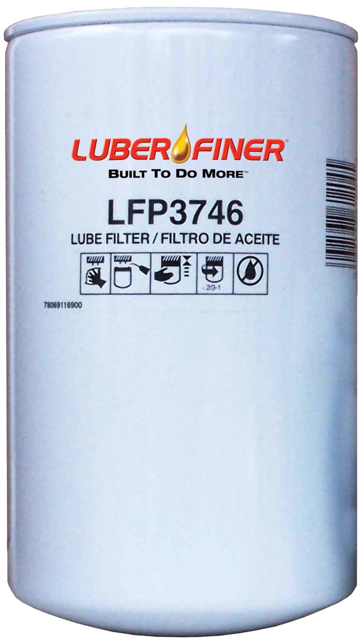 Luber-finer LFP3746-12PK Heavy Duty Oil Filter, 12 Pack