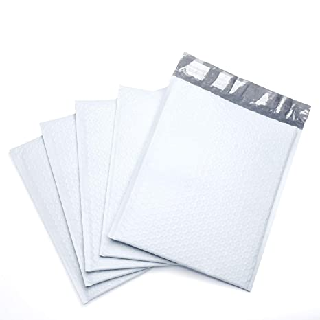 Amazon.com: Fu Global Poly Bubble Mailers - Sobres ...