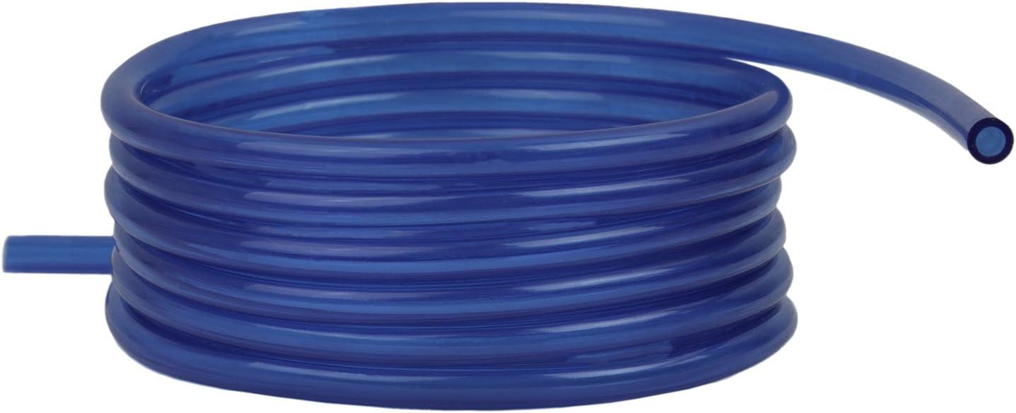 "Blue Polyurethane Fuel Line 1//4/"" ID 10/' Universal"