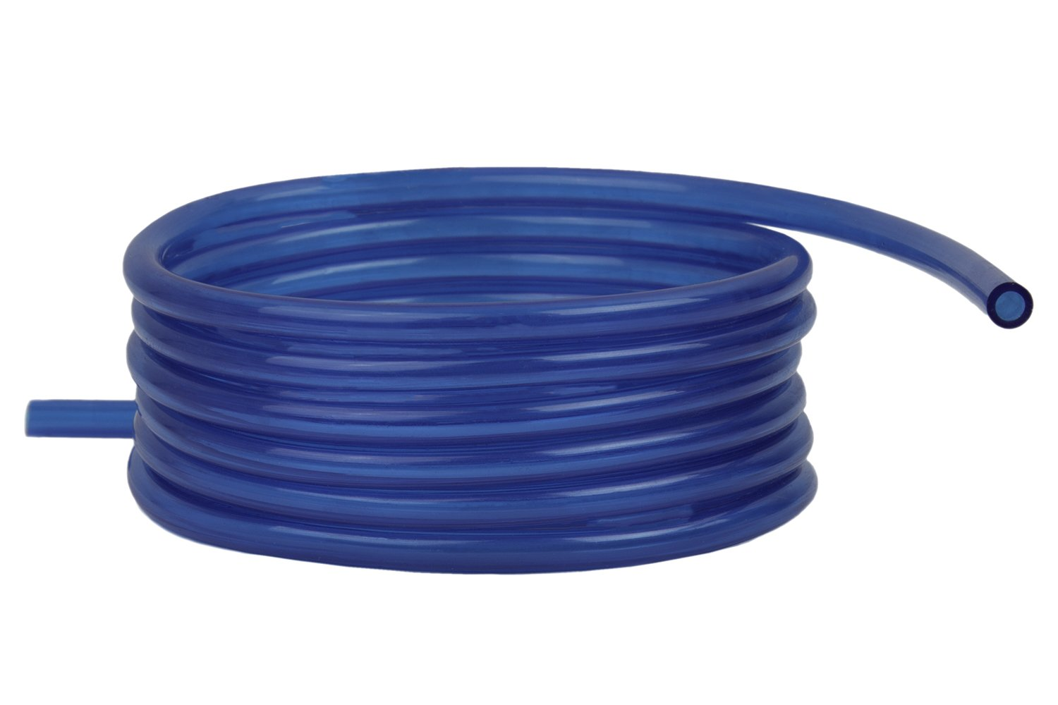Raider Polyurethane Fuel Gas Line Tubing Hose Roll Blue (5 Ft. x 1/8 In.)
