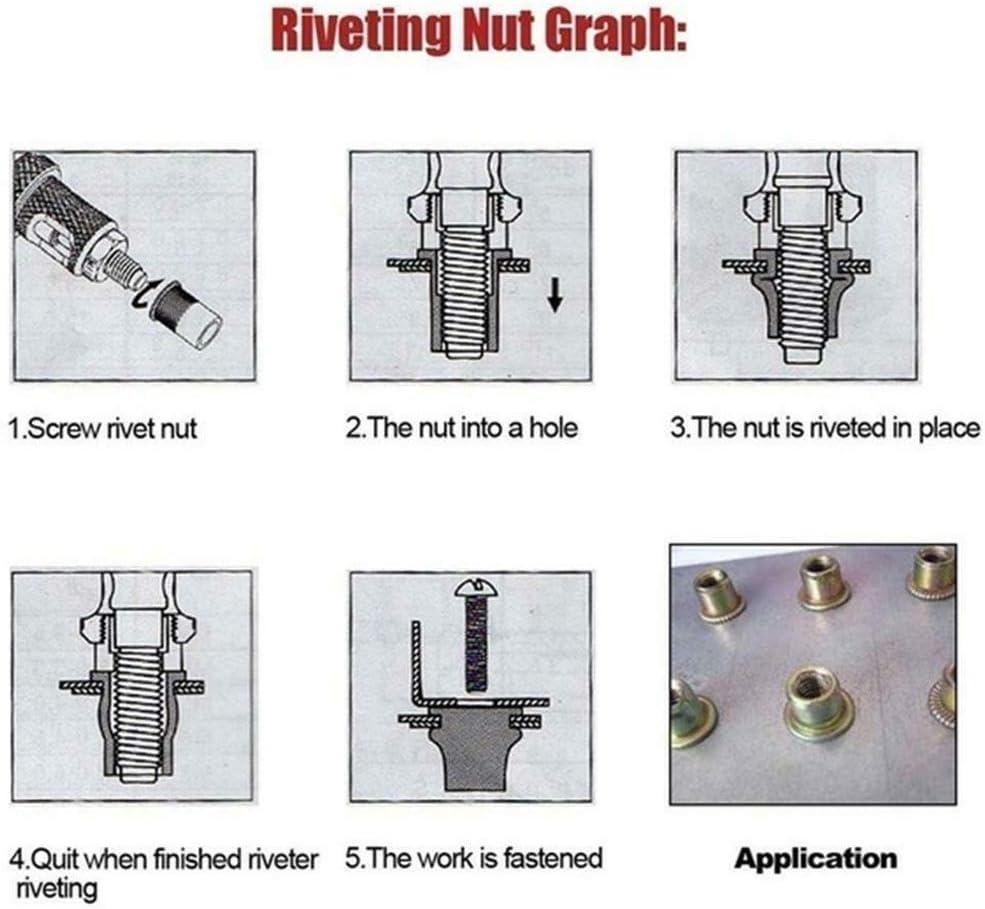 Premium Easy Automatic Rivet Tool Set