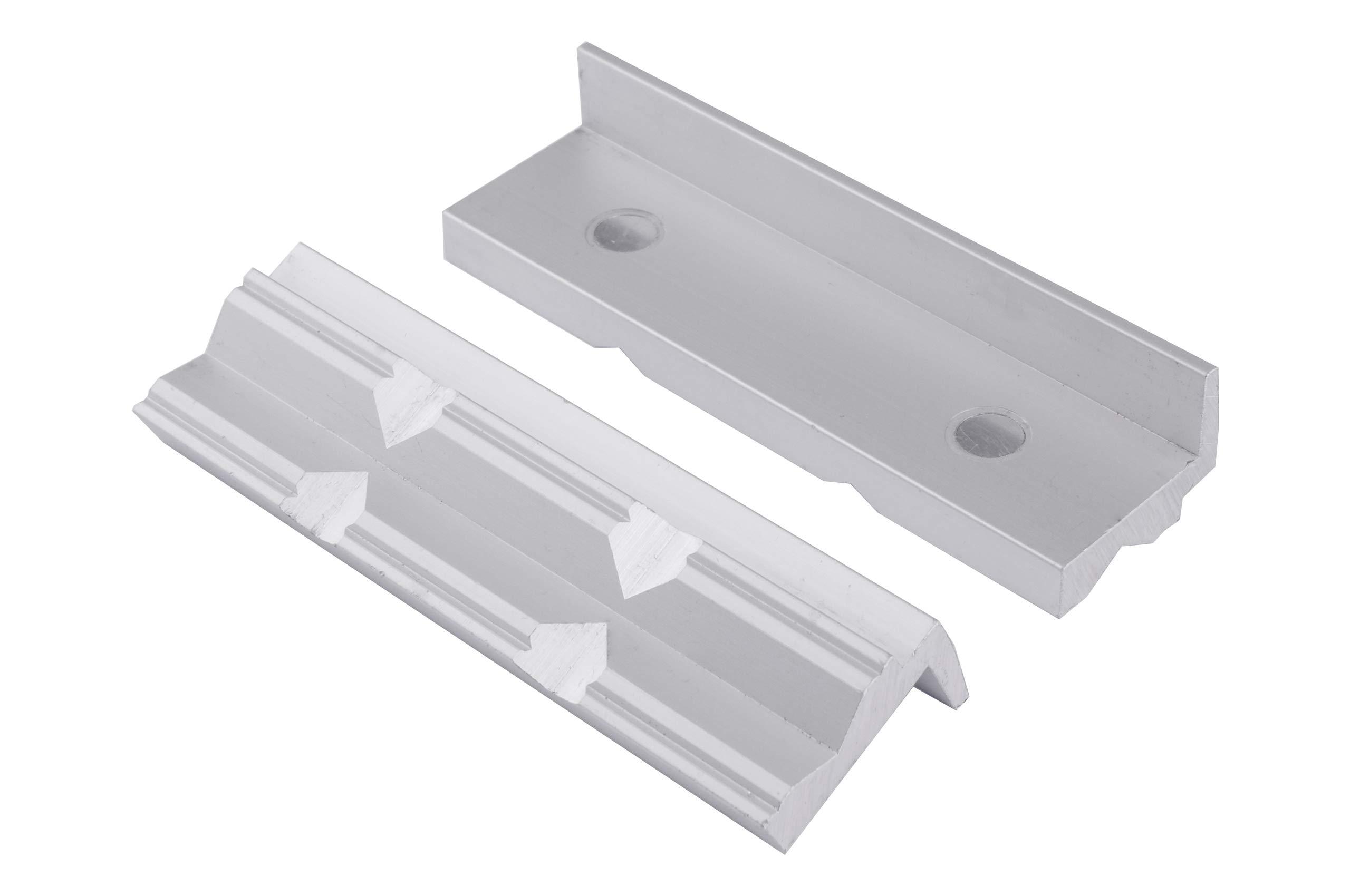 Schutzbacken für Schraubstock 150mm Alu//Pri... GSR Schonbacken für Schraubstock