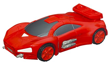 Marvel Transformers Crossovers   Race Car To Iron Man (Red)