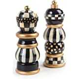 MacKenzie-Childs Courtly Check Salt & Pepper Mill Set 7''