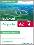 Edexcel A2 Geography Student Unit Guide New Edition: Unit 4 Contemporary Geographical Issues