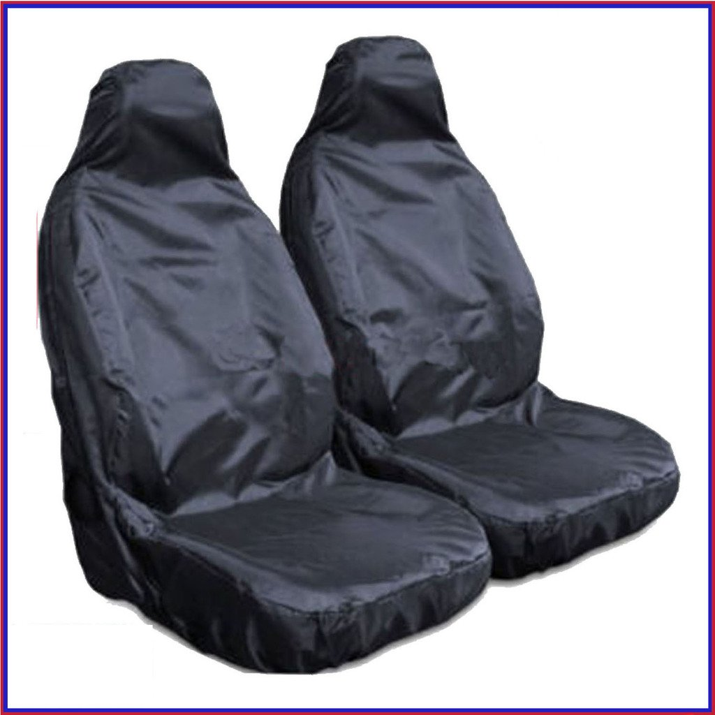 LAND ROVER RANGE ROVER SPORT (2005-2008) Pair Of Waterproof Seat Covers Black TOPGEAR