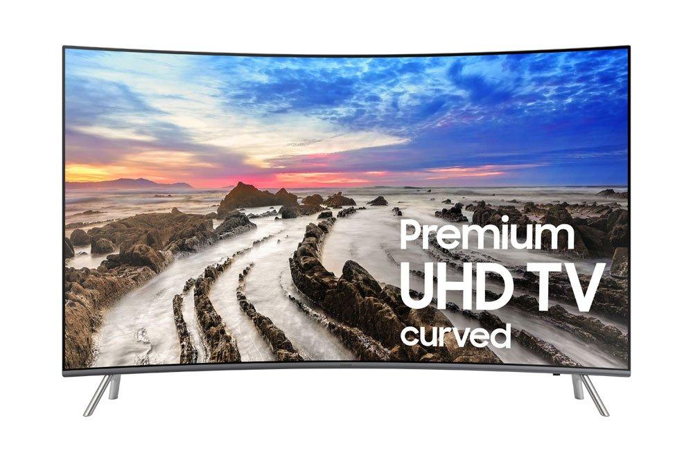 Samsung Electronics UN55MU8500 Curved 55-Inch 4K Ultra HD Smart LED TV (2017 Model) by Samsung