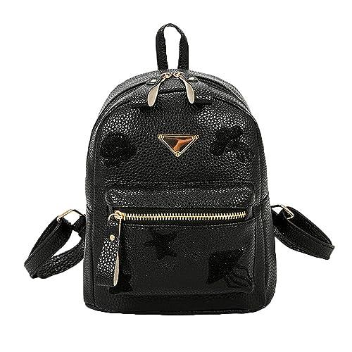 217ffb62952 Clearance Sale! ZOMUSA Women Girls School Bag Travel Small Backpack Satchel  Shoulder Rucksack Backpack (
