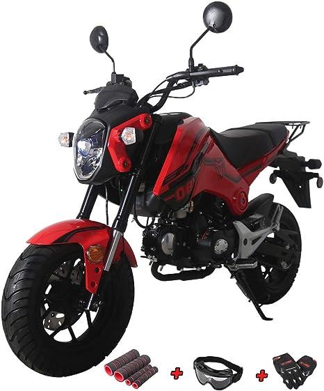 Amazon.com: X-Pro - Moto de 125 cc, 125 cc, con guantes ...