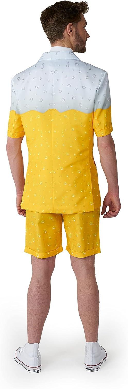 Homme Summer Sunset ressortir Short Costume Fancy Dress Costume Stag Do Drôle