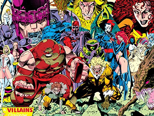 Jim Lee Art (X-Men No.1 Pin-up Group: A Villains Gallery Poster by Jim Lee 24 x 32in)
