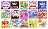 Set of 15 Novelty Flavored Lip Balms - Cereal Flavored - Candy Flavored - Perfect for Stocking Stuffers, Gifts, Personal Use, and More! (Candy, 15)